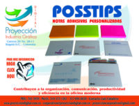 POSIT Notas adhesivas posstips corporativas y publicitarias