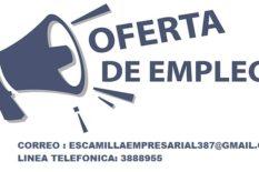 EMPRESA EN EXPANCION BUSCA PERSONAS PROACTIVAS