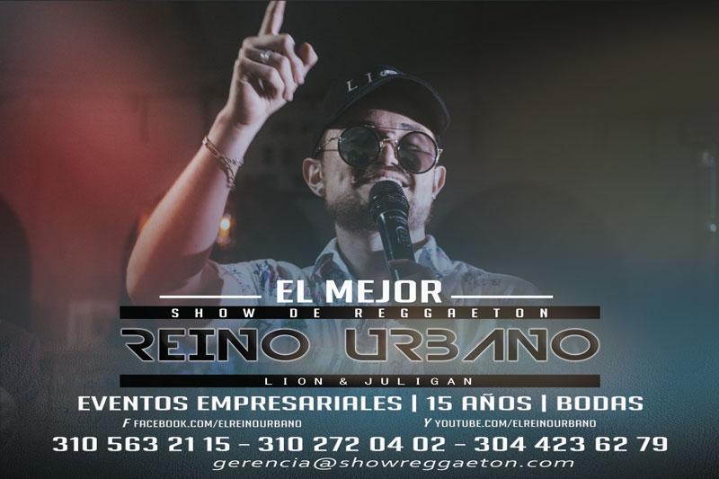 Show Urbano Con Champeta Y Reggaeton Reino Urbano