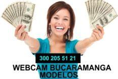 modelo webcam bucaramanga
