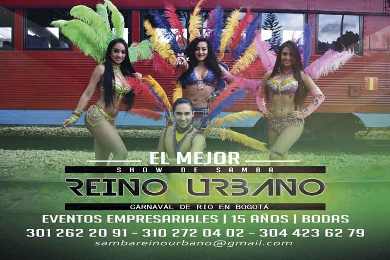 SAMBA Grupos de Samba en Bogota GAROTAS – HORA LOCA