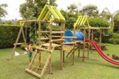 parques infantiles de madera en venta economicos