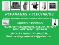 Cali,Reparación de estufas, hornos, calentadores