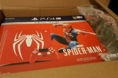 NEW Ps4 pro Console Blue God of war  Spider Man Destiny 2 VR