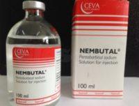 Pentobarbital sódico nembutal líquido, para uso humano / veterinario