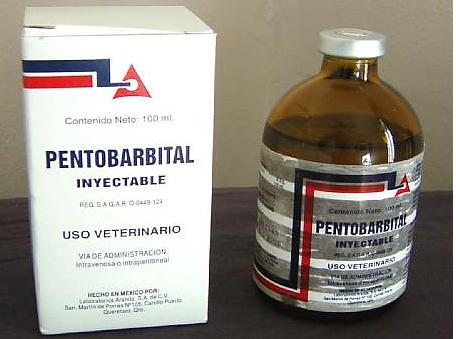 Muerte pacífica e indolora con pentobarbital nembutal