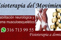 Fisioterapia del Movimiento Parkinson Guillain barré Trombosis Accidente cerebro vascular ACV Trauma cráneo encefálico Esclerosis multiple Alzheimer Columna vertebral Sistema músculo esquelético Fracturas Masaje Rehabilitación Terapia física Fisioterapia Fisioterapeutas a domicilio en Bogotá