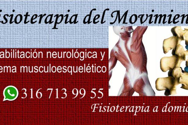 Fisioterapia del Movimiento Parkinson Guillain barré Trombosis Accidente cerebro vascular Trauma cráneo encefálico Columna vertebral Sistema músculo esquelético Terapia física Fisioterapeutas Rehabilitación a domicilio en Bogotá