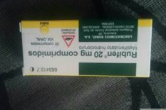 Rubifen 20 mg – 30 COMPRIMIDOS….Email:mfarmacia005@gmail.com
