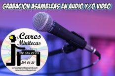 GRABACION DE ASAMBLEAS AUDIO PARA ACTAS DE ASAMBLEAS