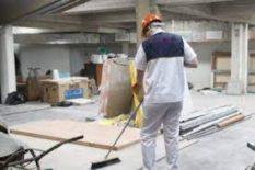 LIMPIEZA DESPUES DE UNA CONSTRUCCION SERVICIO