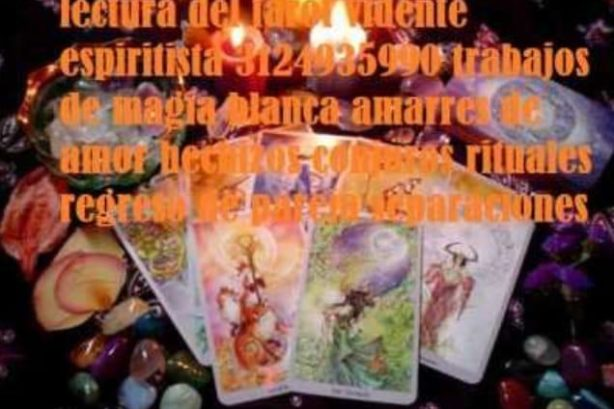 Vidente En villavicencio 3124935990 lectura del tarot Amarres De Amor Regreso De Pareja Espiritista Trabajos De Magia Blanca
