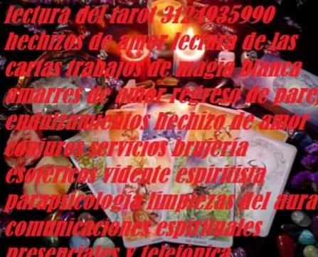 Lectura del tarot en villavicencio 3124935990 amarres de amor
